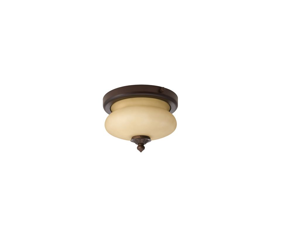 Lithonia Lighting ODLF13 1 Light Flush Mount Ceiling Fixture from the