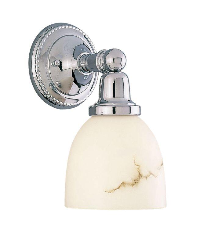 Livex Lighting 1021 Classic 1 Light Bathroom Sconce Chrome Indoor Sale $89.91 ITEM: bci1033264 ID#:1021-05 UPC: 847284003217 :