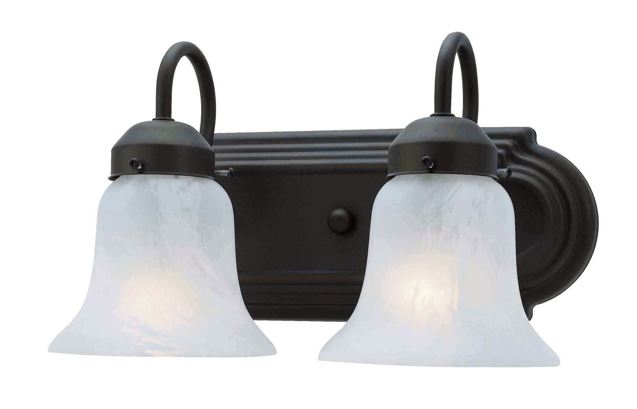 Livex Lighting 1072P Riviera 2 Light Bathroom Vanity Light Bronze Sale $69.90 ITEM: bci1033296 ID#:1072-07 UPC: 847284000117 :