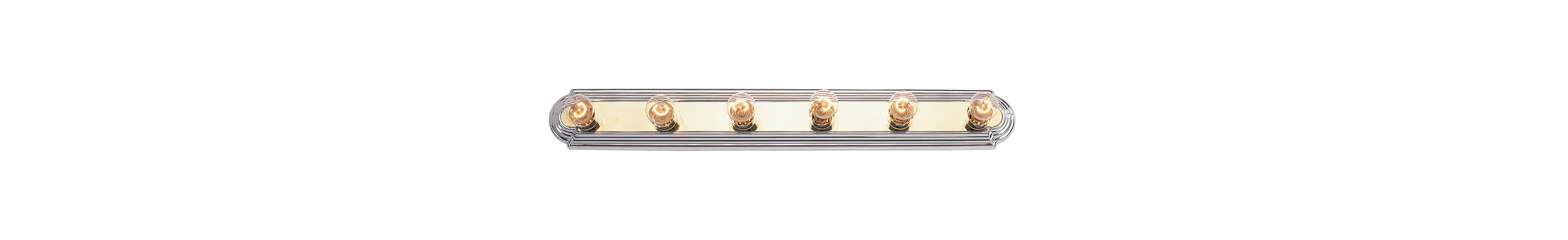 Livex Lighting 1146 Bath Basics 6 Light Bathroom Vanity Light