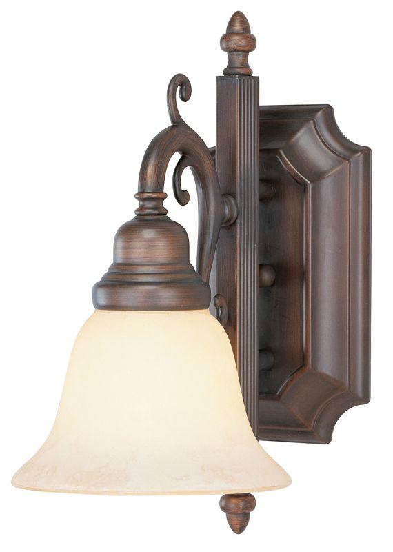 Livex Lighting 1191 French Regency 1 Light Bathroom Sconce Imperial