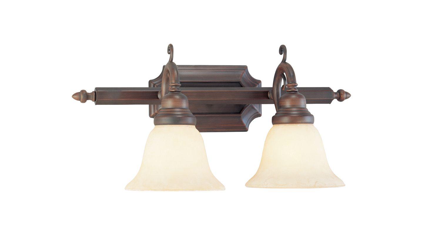 Livex Lighting 1192 French Regency 2 Light Bathroom Vanity Light