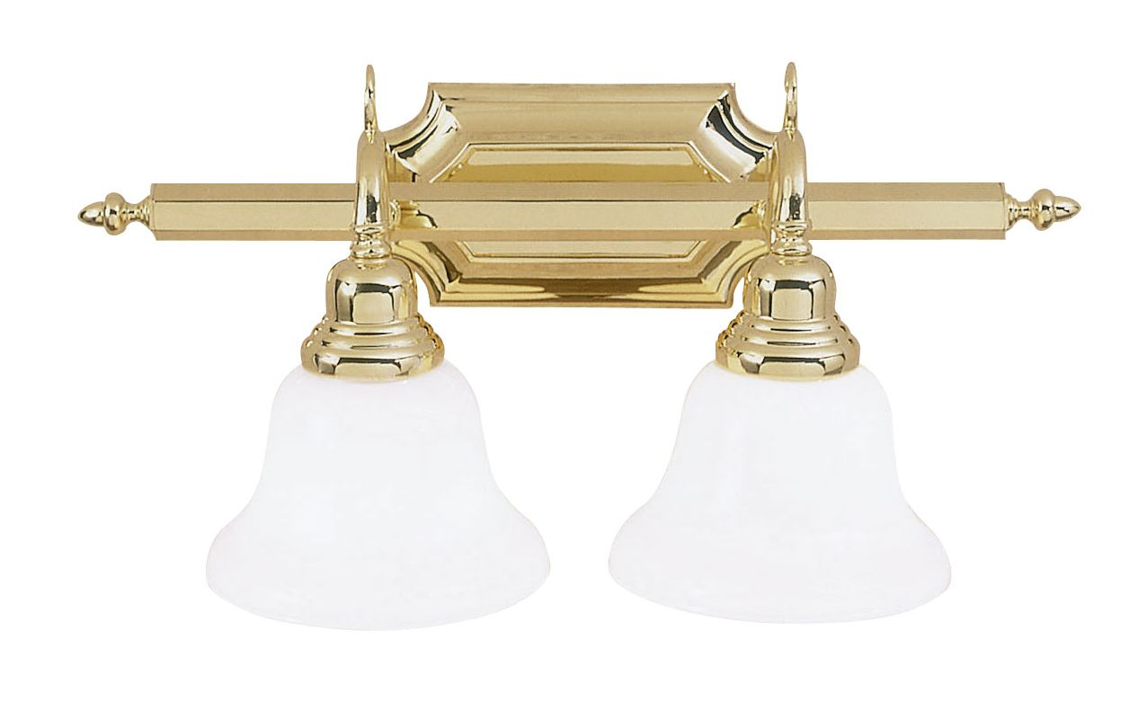 Livex Lighting 1282T French Regency 2 Light Bathroom Vanity Light Sale $161.91 ITEM: bci1033432 ID#:1282-02 UPC: 847284014244 :