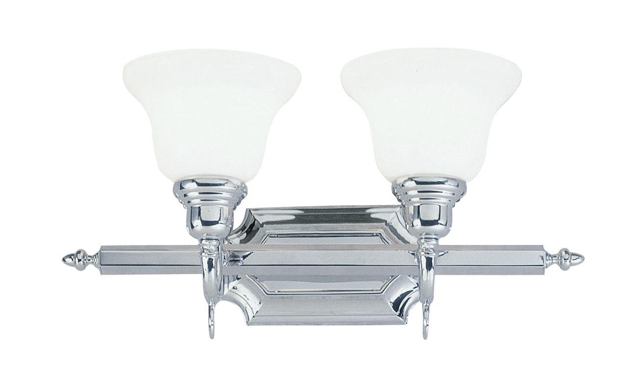Livex Lighting 1282T French Regency 2 Light Bathroom Vanity Light Sale $161.91 ITEM: bci1033433 ID#:1282-05 UPC: 847284014251 :