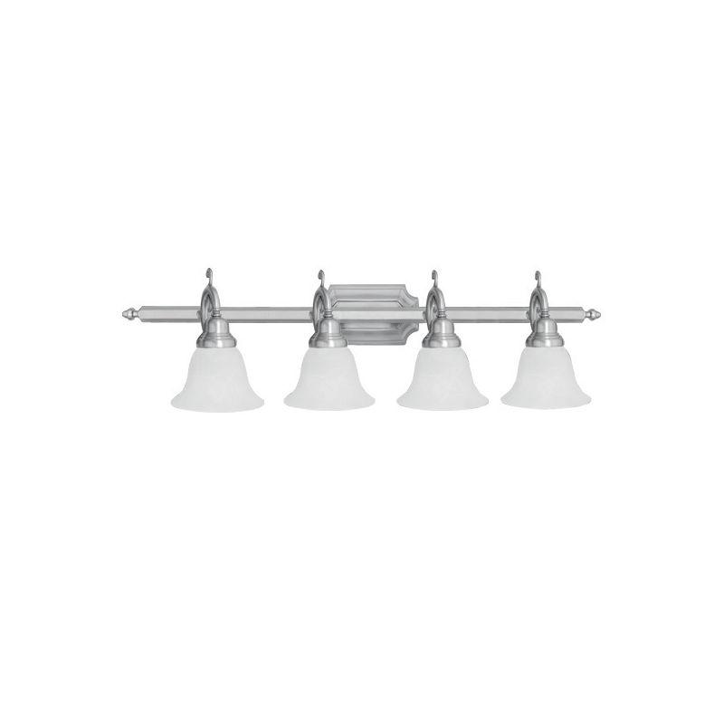 Livex Lighting 1284S French Regency 4 Light Bathroom Vanity Light