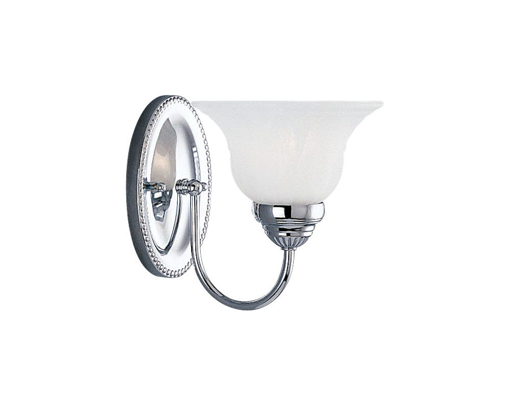 Livex Lighting 1531 Edgemont Bathroom Wall Sconce with 1 Light Chrome Sale $62.91 ITEM: bci1033456 ID#:1531-05 UPC: 847284000261 :