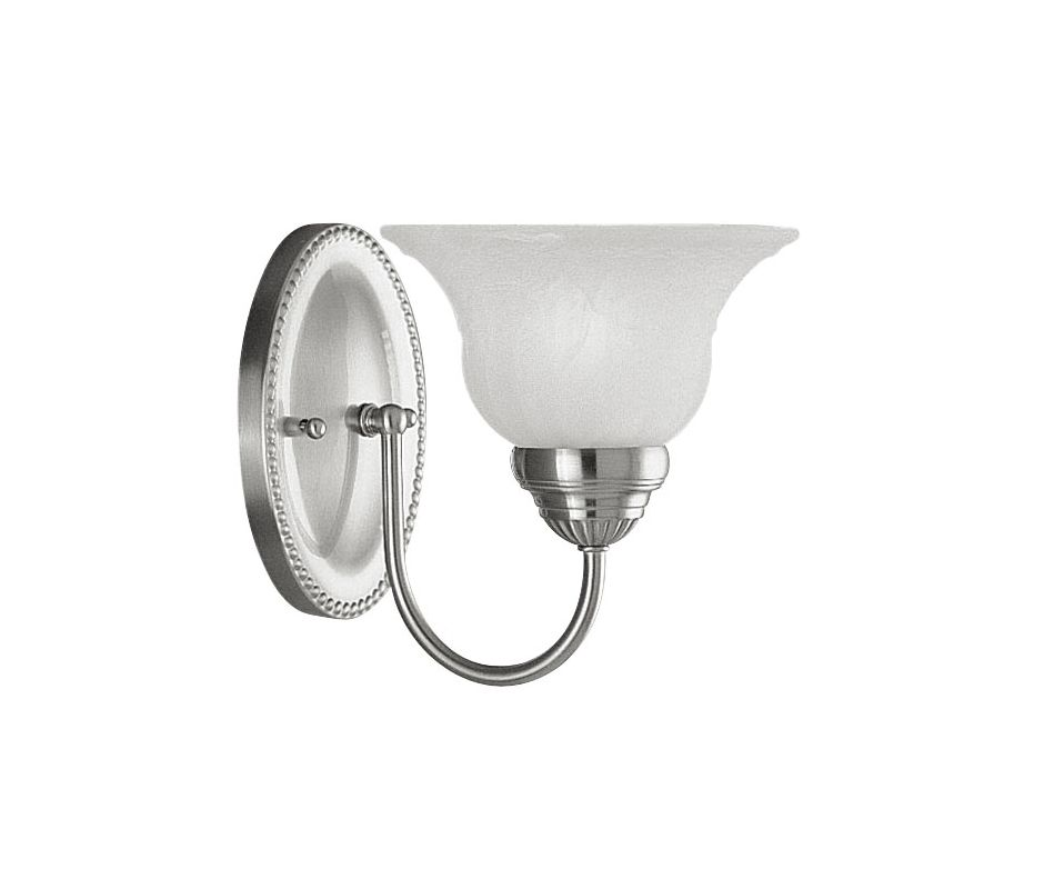 Livex Lighting 1531 Edgemont Bathroom Wall Sconce with 1 Light Brushed