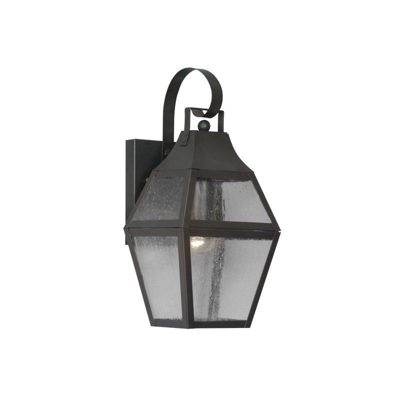 Livex Lighting 2080 Augusta 1 Light Outdoor Wall Sconce Bronze Outdoor
