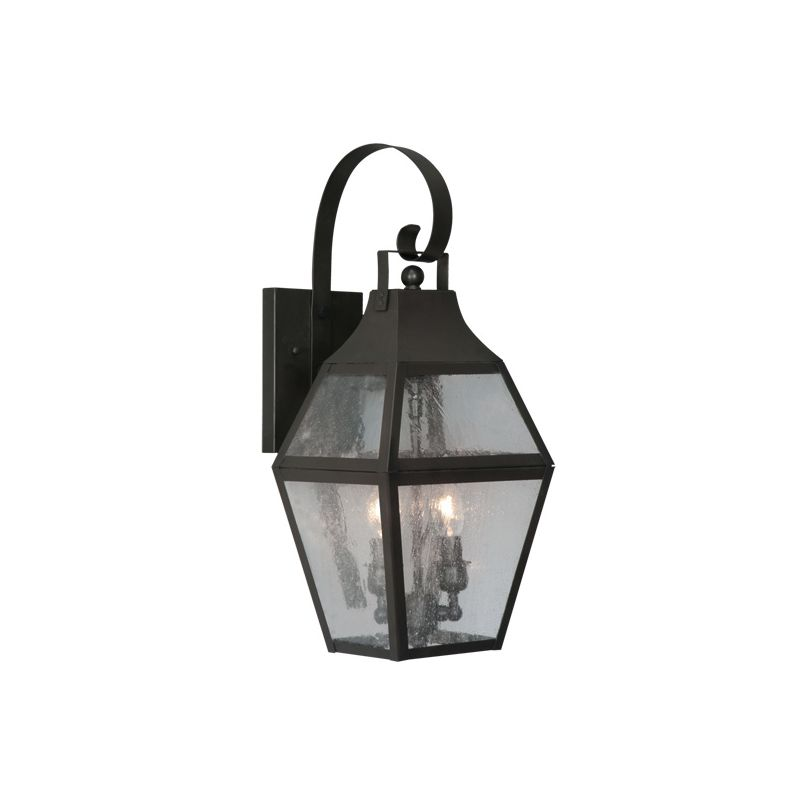 Livex Lighting 2081 Augusta 2 Light Outdoor Wall Sconce Bronze Outdoor