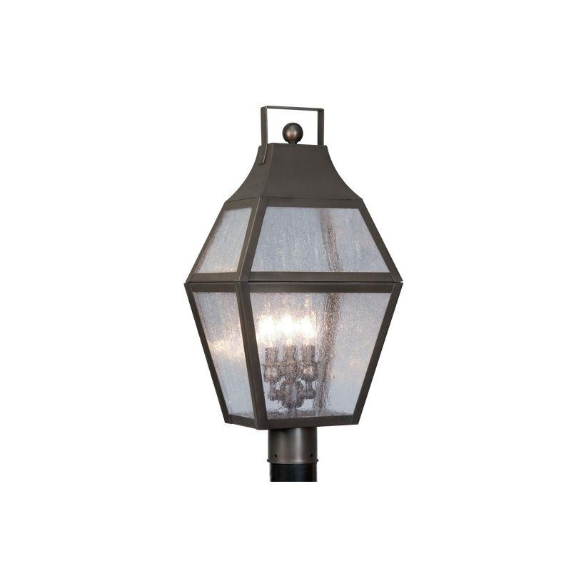 Livex Lighting 2083 Augusta 3 Light Outdoor Post Light Bronze Outdoor