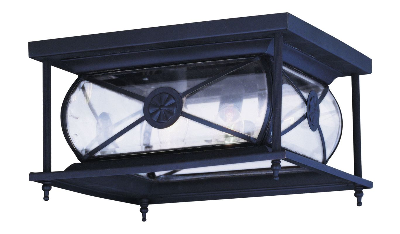 Livex Lighting 2090 Providence 2 Light Flush Mount Outdoor Ceiling