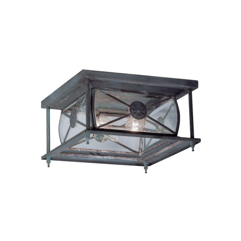 Livex Lighting 2090 Providence 2 Light Flush Mount Outdoor Ceiling
