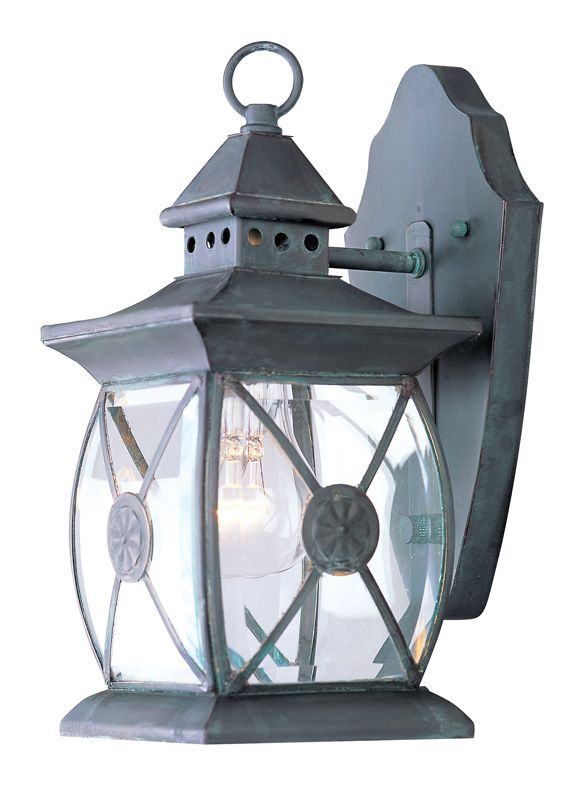 Livex Lighting 2091 Providence 1 Light Outdoor Wall Sconce Charcoal