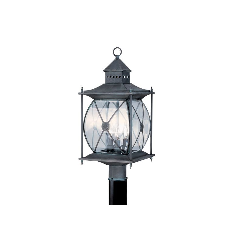 Livex Lighting 2096 Providence 3 Light Outdoor Post Light Charcoal Sale $539.90 ITEM: bci1033542 ID#:2096-61 :