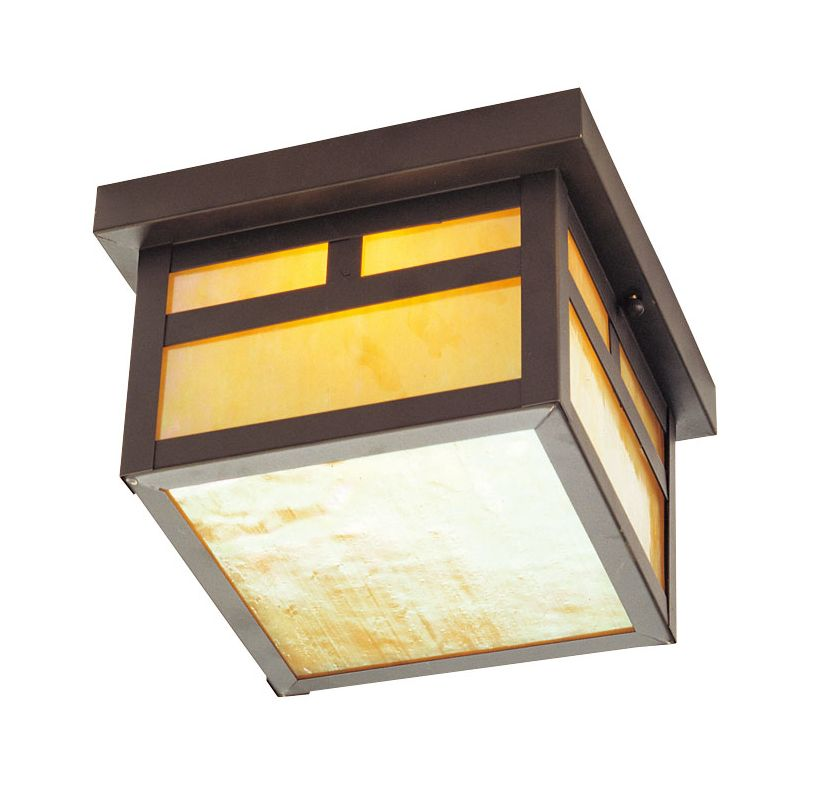 Livex Lighting 2138 Montclair Mission 1 Light Flush Mount Outdoor