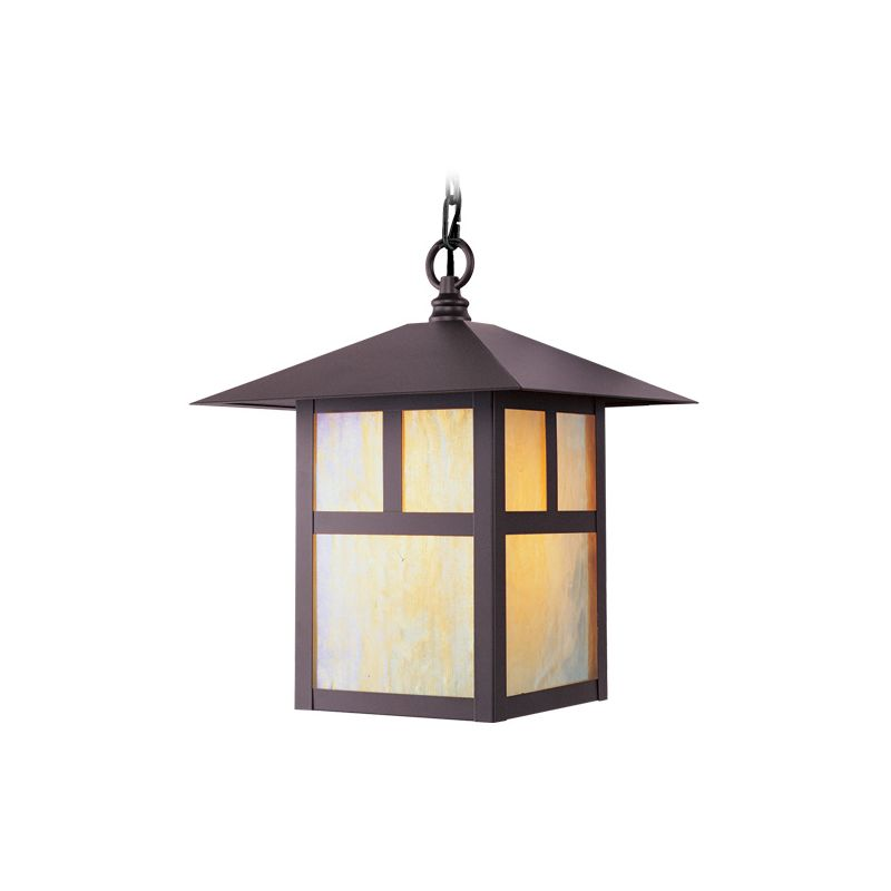 Livex Lighting 2141 Montclair Mission 1 Light Outdoor Pendant Bronze