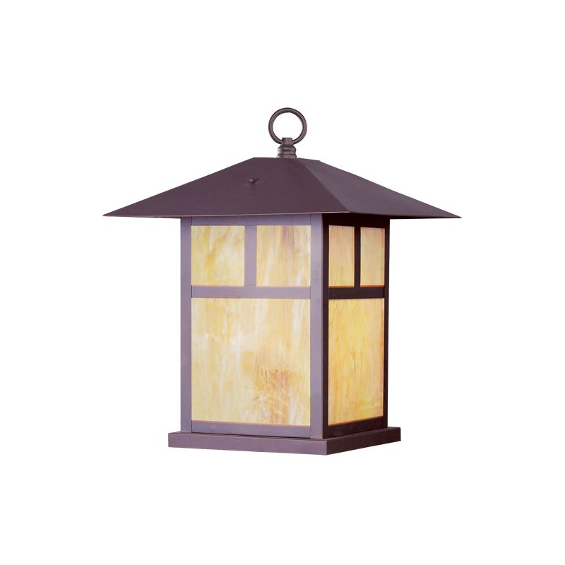 Livex Lighting 2144 Montclair Mission 1 Light Outdoor Column Mount