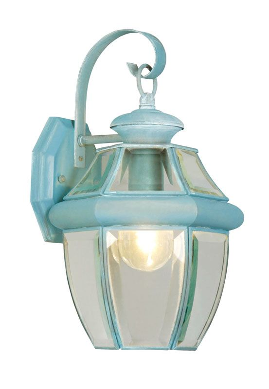 Livex Lighting 2151 Monterey 1 Light Outdoor Wall Sconce Verdigris