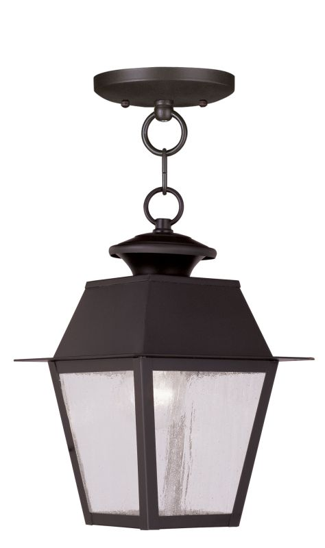 Livex Lighting 2164 Mansfield Outdoor Pendant with 1 Light Bronze Sale $159.90 ITEM: bci2069183 ID#:2164-07 UPC: 847284027442 :