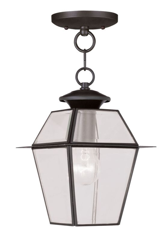 Livex Lighting 2183 Westover Outdoor Pendant with 1 Light Bronze Sale $109.90 ITEM: bci2069228 ID#:2183-07 UPC: 847284027053 :