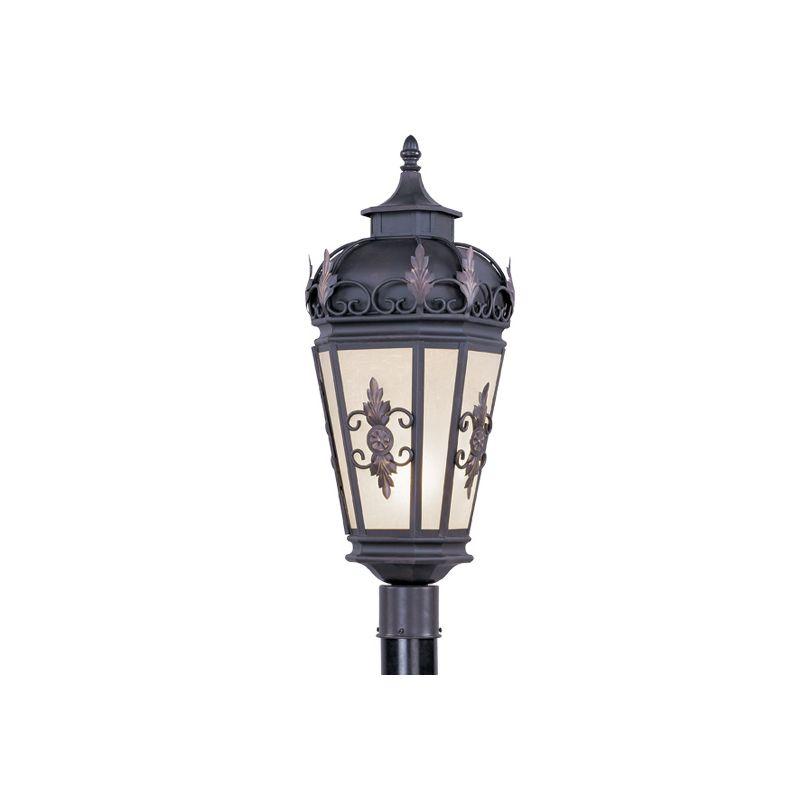 Livex Lighting 2198 Berkshire 1 Light Outdoor Post Light Bronze