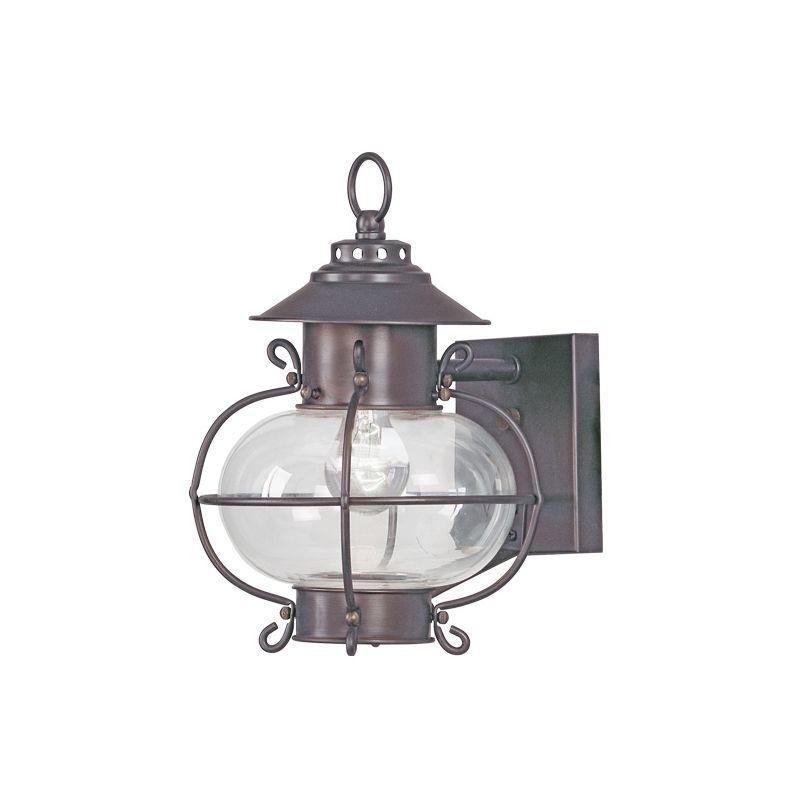 Livex Lighting 2221 Harbor 1 Light Outdoor Wall Sconce Bronze Outdoor Sale $189.90 ITEM: bci1033606 ID#:2221-07 :
