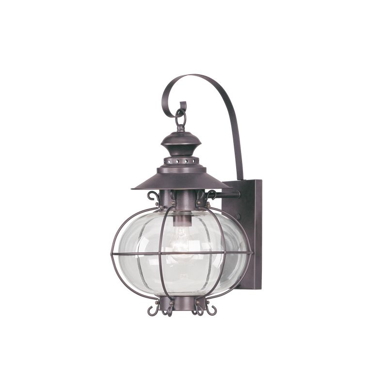 Livex Lighting 2223 Harbor 1 Light Outdoor Wall Sconce Bronze Outdoor Sale $399.90 ITEM: bci1033610 ID#:2223-07 :