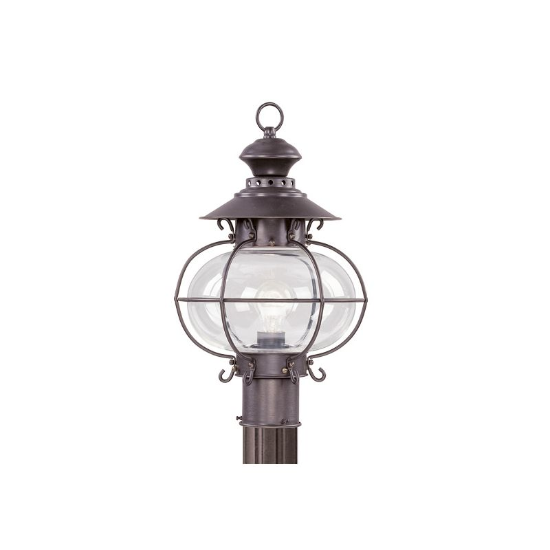 Livex Lighting 2224 Harbor 1 Light Outdoor Post Light Bronze Outdoor Sale $299.90 ITEM: bci1033612 ID#:2224-07 :