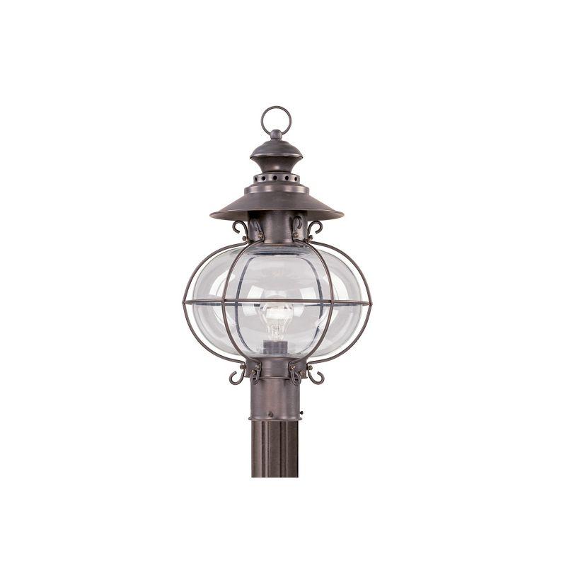 Livex Lighting 2226 Harbor 1 Light Outdoor Post Light Bronze Outdoor Sale $399.90 ITEM: bci1033616 ID#:2226-07 :