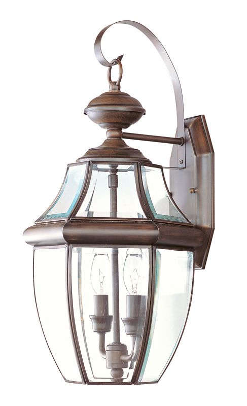 Livex Lighting 2251 Monterey 2 Light Outdoor Wall Sconce Imperial