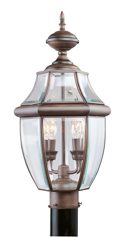 Livex Lighting 2254 Monterey 2 Light Outdoor Post Light Imperial