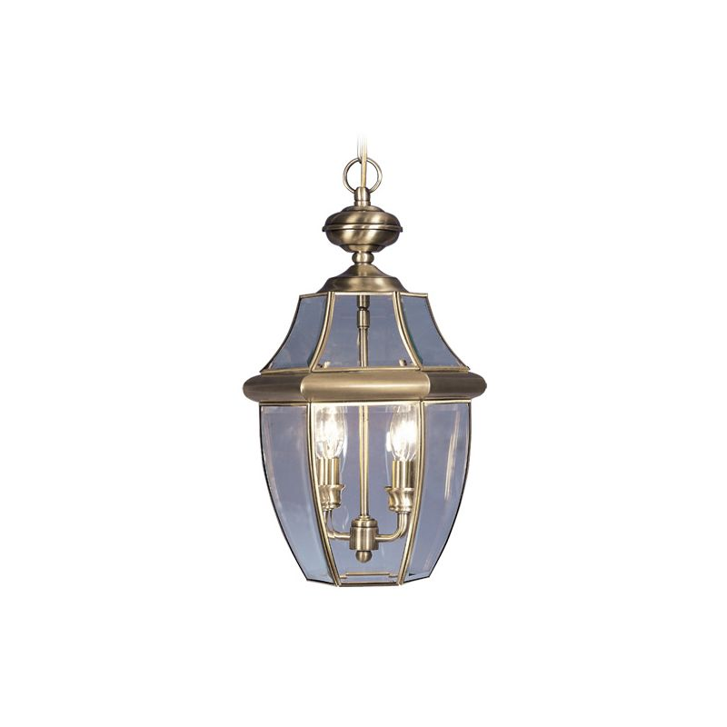 Livex Lighting 2255 Monterey 2 Light Outdoor Pendant Antique Brass Sale $169.90 ITEM: bci1033638 ID#:2255-01 :