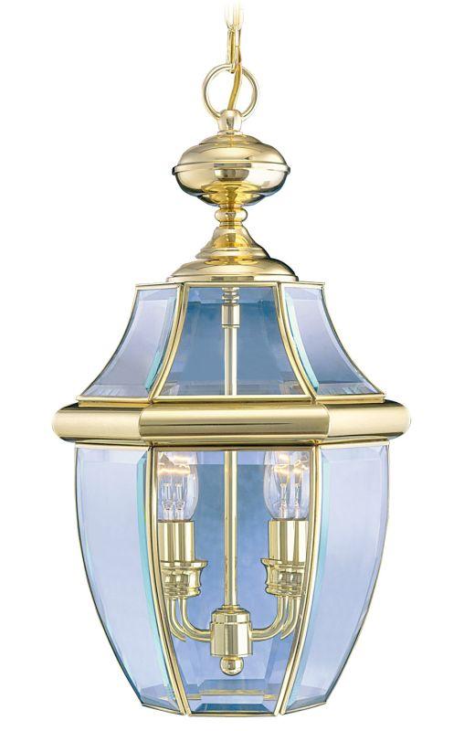 Livex Lighting 2255 Monterey 2 Light Outdoor Pendant Polished Brass Sale $169.90 ITEM: bci1033639 ID#:2255-02 :