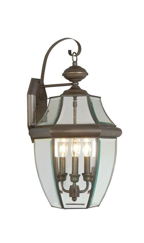 Livex Lighting 2351 Monterey 3 Light Outdoor Wall Sconce Bronze Sale $189.90 ITEM: bci1033668 ID#:2351-07 :