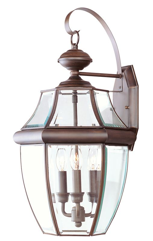 Livex Lighting 2351 Monterey 3 Light Outdoor Wall Sconce Imperial
