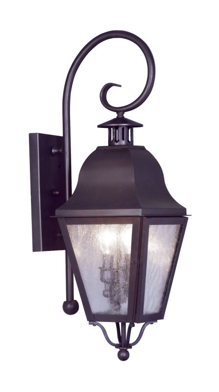 Livex Lighting 2551 Amwell Large Outdoor Wall Sconce with 2 Lights Sale $399.90 ITEM: bci1033750 ID#:2551-07 UPC: 847284010383 :