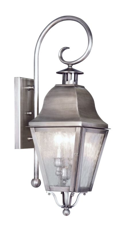 Livex Lighting 2551 Amwell Large Outdoor Wall Sconce with 2 Lights Sale $399.90 ITEM: bci1033751 ID#:2551-29 UPC: 847284010390 :