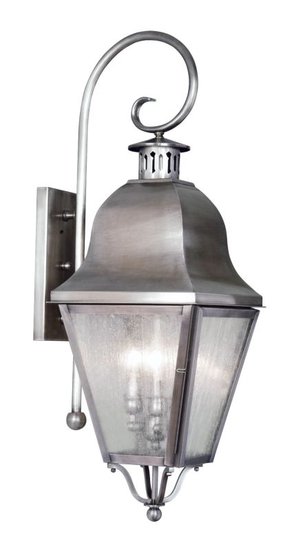 Livex Lighting 2555 Amwell Large Outdoor Wall Sconce with 3 Lights