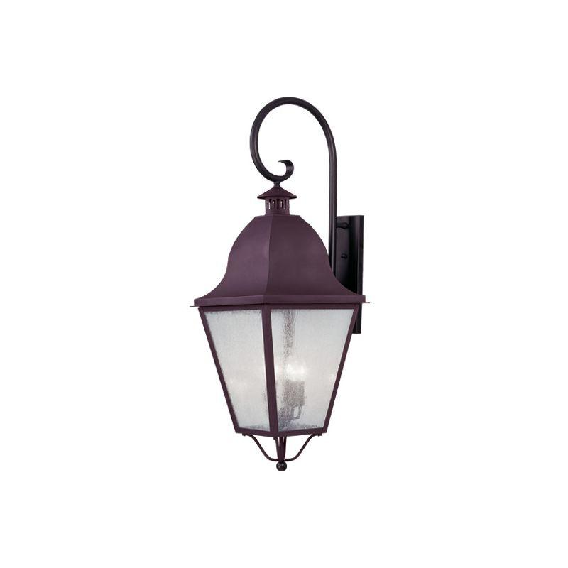 Livex Lighting 2559 Amwell 4 Light Outdoor Wall Sconce Bronze Outdoor