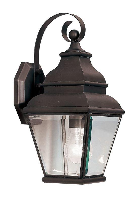 Livex Lighting 2590 Exeter 1 Light Outdoor Wall Sconce Bronze Outdoor