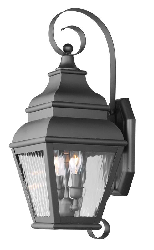 Livex Lighting 2602 Exeter Large Outdoor Wall Sconce with 2 Lights Sale $399.90 ITEM: bci1033796 ID#:2602-04 UPC: 847284010765 :