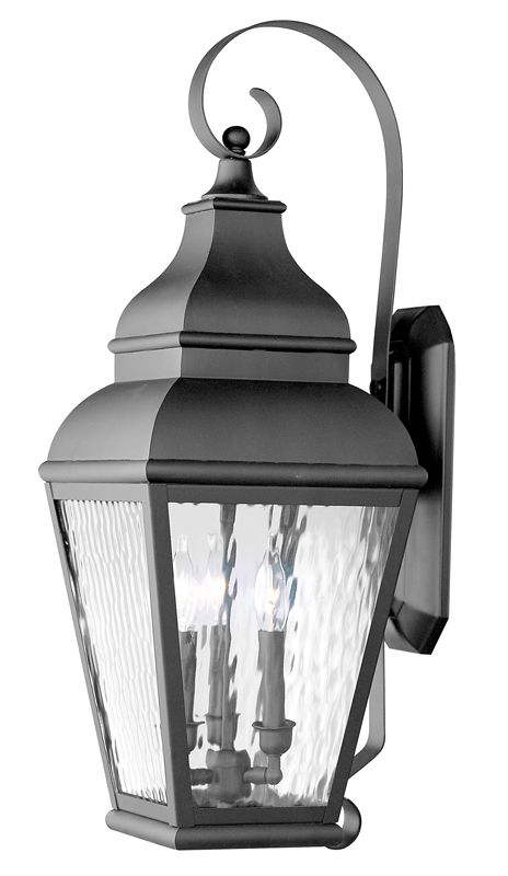 Livex Lighting 2605 Exeter Large Outdoor Wall Sconce with 3 Lights Sale $699.90 ITEM: bci1033799 ID#:2605-04 UPC: 847284010796 :