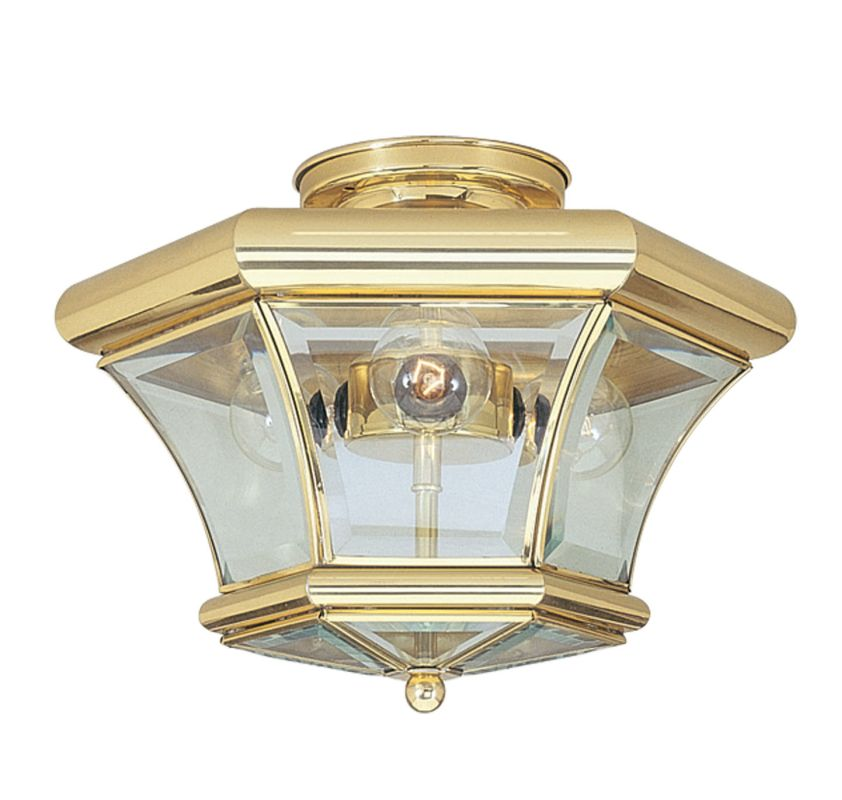 Livex Lighting 4083 Monterey 3 Light Semi-Flush Ceiling Fixture Sale $134.91 ITEM: bci1033859 ID#:4083-02 UPC: 847284014862 :