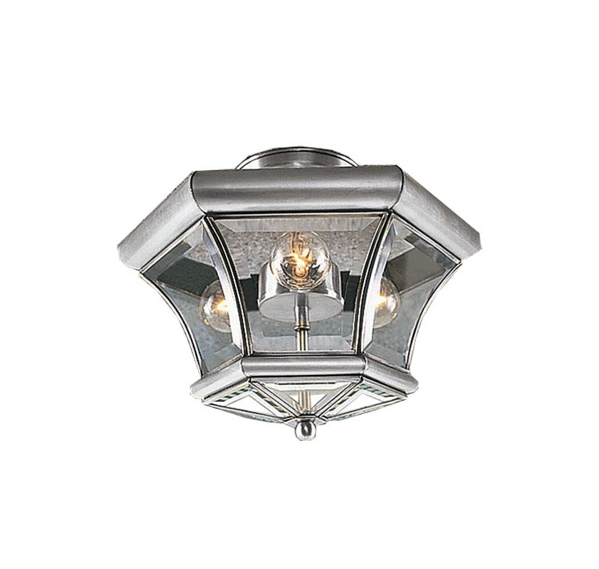 Livex Lighting 4083 Monterey 3 Light Semi-Flush Ceiling Fixture Sale $149.90 ITEM: bci1033861 ID#:4083-91 UPC: 847284014886 :