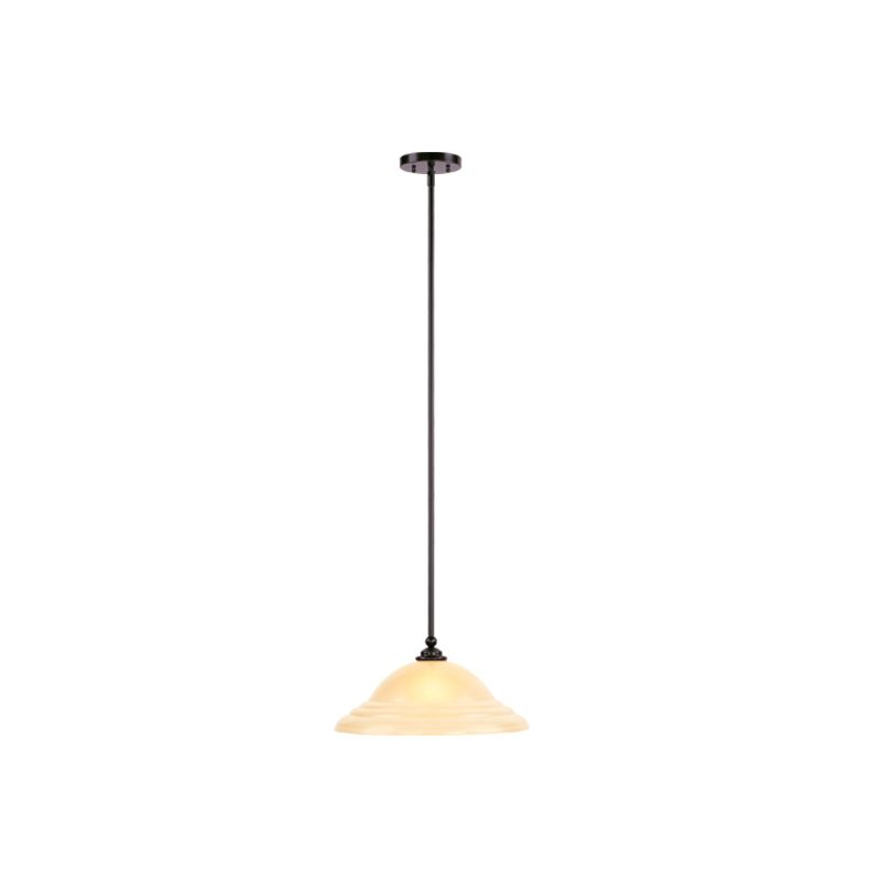 Livex Lighting 4251 North Port 1 Light Pendant Olde Bronze Indoor