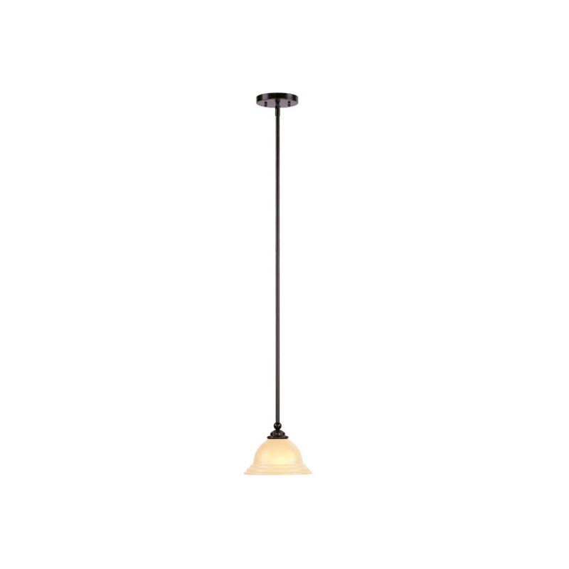 Livex Lighting 4256 North Port 1 Light Pendant Olde Bronze Indoor