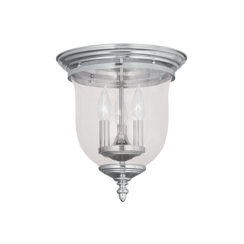 Livex Lighting 5021 Legacy 3 Light Flush Mount Ceiling Fixture Sale $159.90 ITEM: bci1791242 ID#:5021-35 UPC: 847284005631 :