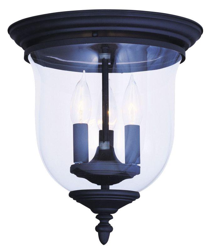 Livex Lighting 5021 Legacy 3 Light Flush Mount Ceiling Fixture Black Sale $159.90 ITEM: bci1791241 ID#:5021-04 UPC: 847284005624 :