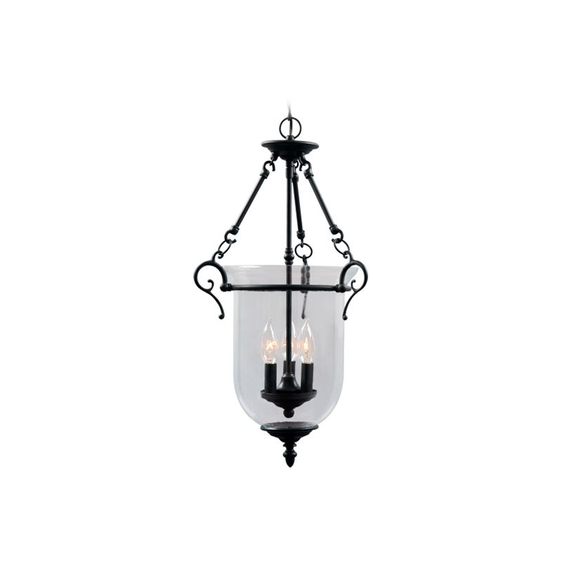 Livex Lighting 5022 Legacy 3 Light Pendant Bronze Indoor Lighting