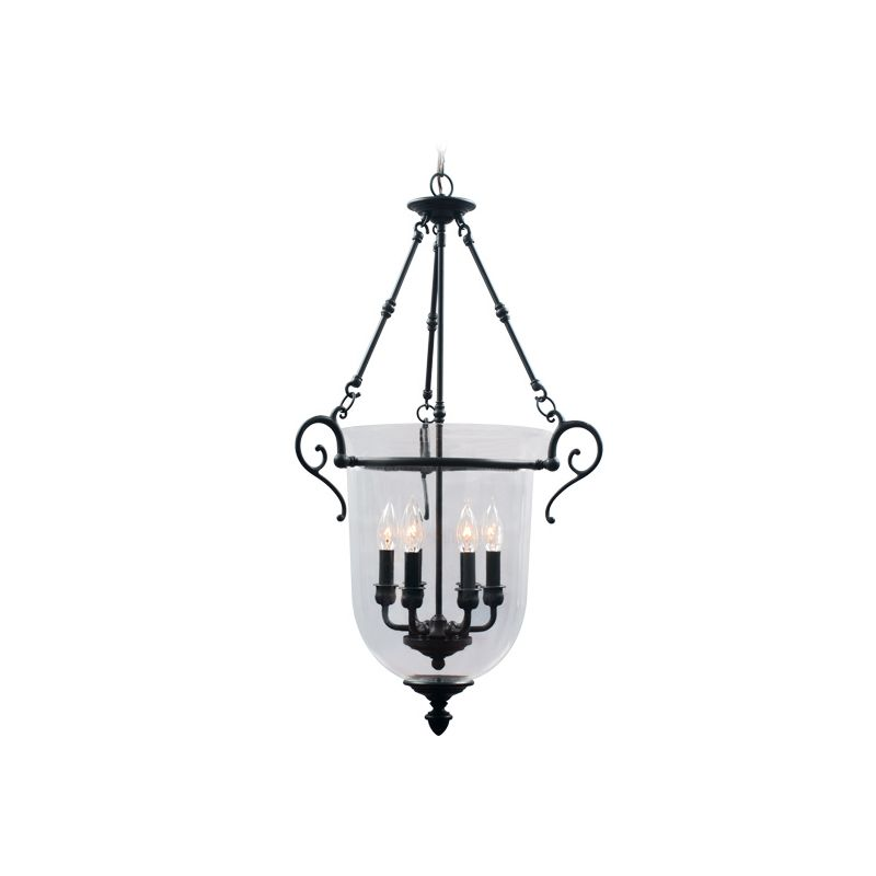 Livex Lighting 5023 Legacy 6 Light Pendant Bronze Indoor Lighting